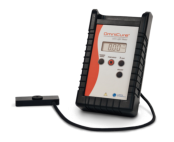 UV LED Light Meter with sensor and fine aperture with precise calibration ensuring accurate and consistent measurements over a broad dynamic range