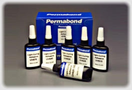 uv adhesives for uv light curing from Permabond