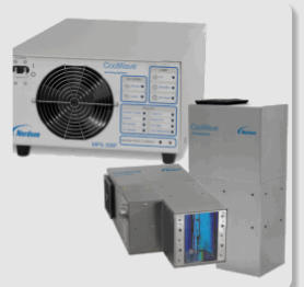 Microwave UV Curing/Drying System Nordson Cool Wave 306 provides a more geometrically accurate field of focus